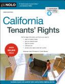 California Tenants  Rights