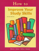 How to Improve Your Study Skills Book