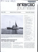 Antarctic Journal of the United States