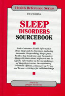 Sleep Disorders Sourcebook Book