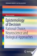 Epistemology of Decision Book