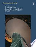 The Securities Regulatory Handbook
