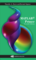 MATLAB Primer, Seventh Edition