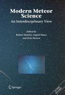 Pdf Modern Meteor Science Telecharger