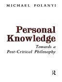 Pdf Personal Knowledge