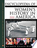 """Encyclopedia of Women's History in America"" by Kathryn Cullen-DuPont"