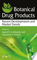 Botanical Drug Products