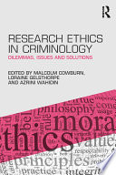 Research Ethics in Criminology