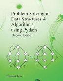 Problem Solving in Data Structures   Algorithms Using Python