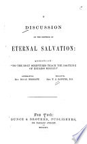 A Discussion on the Doctrine of Eternal Salvation