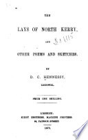The Lays of North Kerry and Other Poems and Sketches