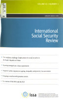International Social Security Review Book