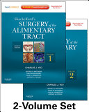 Shackelford s Surgery of the Alimentary Tract Book