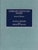 Pdf Literary Criticism Index