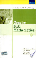 Concise B Sc Maths 2nd Sem Karnatka Unv