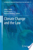 Climate Change and the Law Book