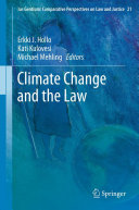 Climate Change and the Law