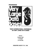 Tenth International Conference on Very Large Data Bases