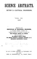 Electrical and Electronics Abstracts Book
