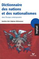 Pdf Initial - Dictionnaire des nations et des nationalismes Telecharger