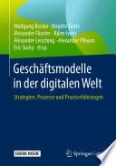 Geschäftsmodelle in der digitalen Welt