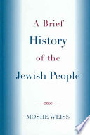 A Brief History Of The Jewish People Book