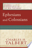 Ephesians and Colossians (Paideia: Commentaries on the New Testament)