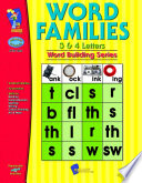 Word Families 3   4 Letter Words Gr  1 3 Book PDF