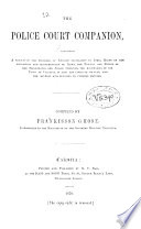 The Police Court Companion Book