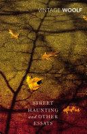 Street Haunting and Other Essays Pdf/ePub eBook