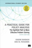 A Practical Guide for Policy Analysis - International Student Edition