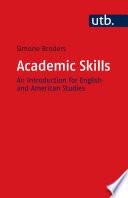Academic Skills Book PDF