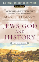 Jews  God  and History Book