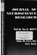 Journal of neuroscience research
