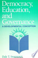 Democracy  Education  and Governance