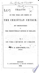 On the Church of Christ Book