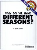 Why Do We Have Different Seasons