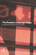 The Russian Language Today