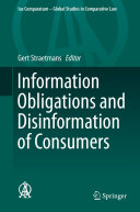Pdf Information Obligations and Disinformation of Consumers Telecharger