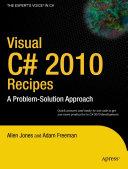 Visual C  2010 Recipes