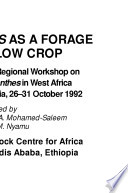 Stylosanthes as a Forage and Fallow Crop