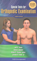 Special Tests for Orthopedic Examination