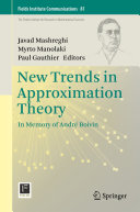New Trends in Approximation Theory [Pdf/ePub] eBook