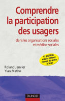 Pdf Comprendre la participation des usagers - 4e éd. Telecharger