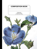 Flower Composition Book