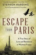 Pdf Escape from Paris Telecharger