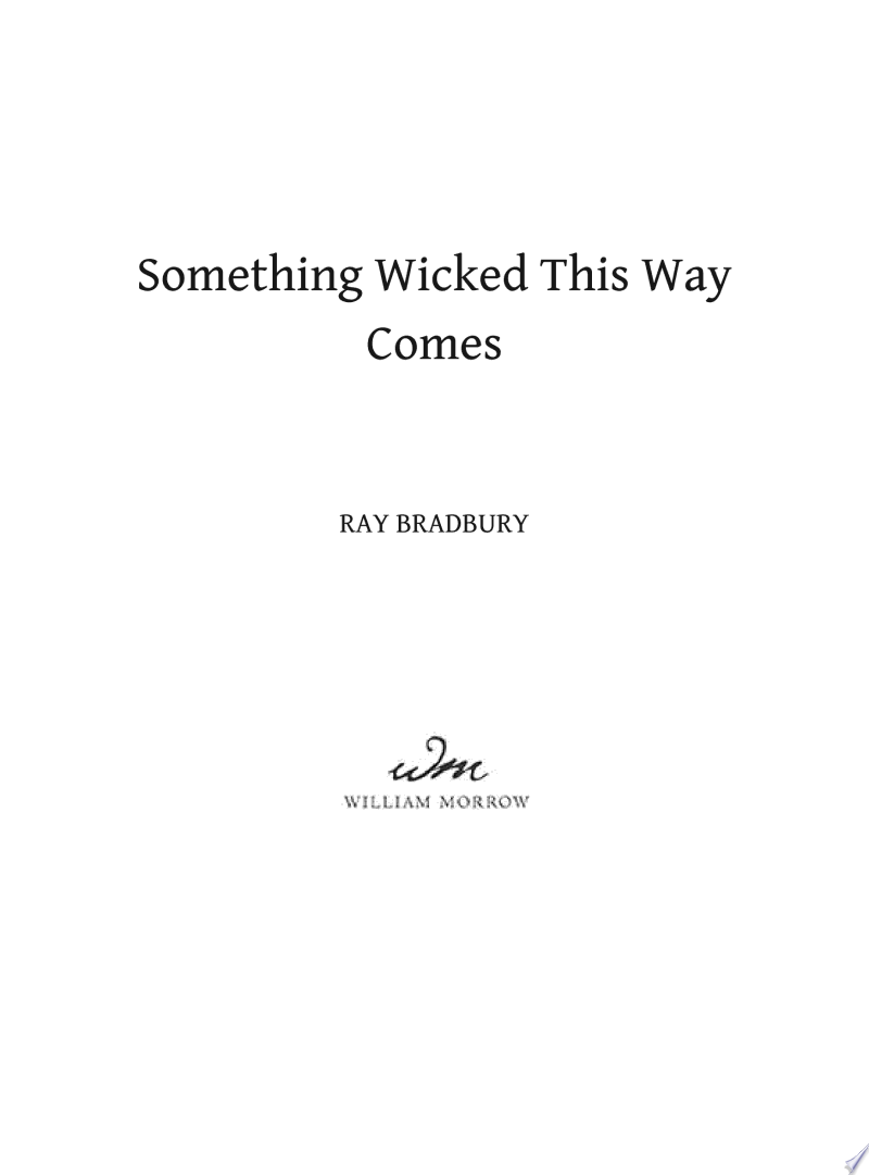 Something Wicked This Way Comes image