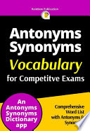 Vocabulary - Antonyms & Synonyms Dictionary