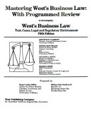 Mastering West s Business Law Book PDF