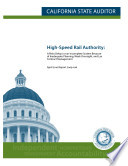 High Speed Rail Authority in California